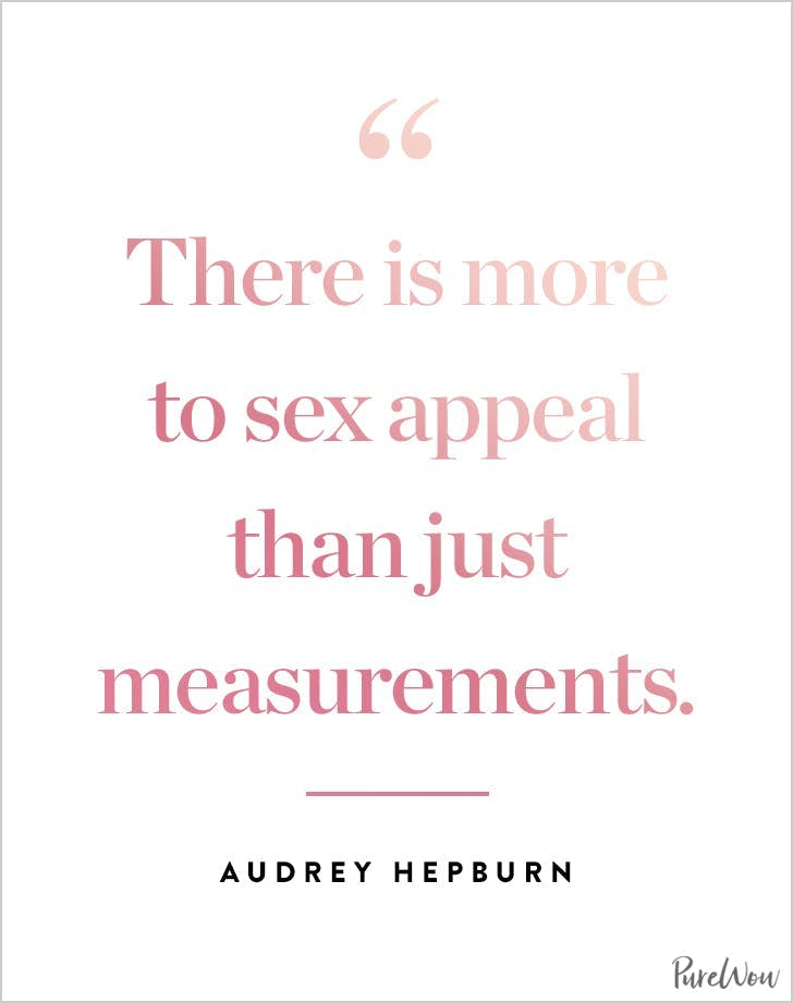 best audrey hepburn quotes sex appeal