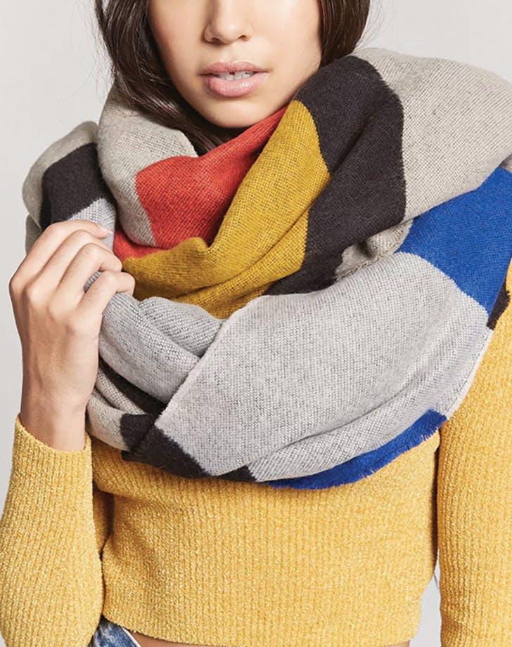 blanket scarf forever21