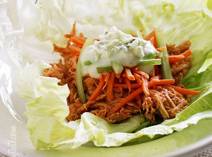 buffalo chicken lettuce wraps 501
