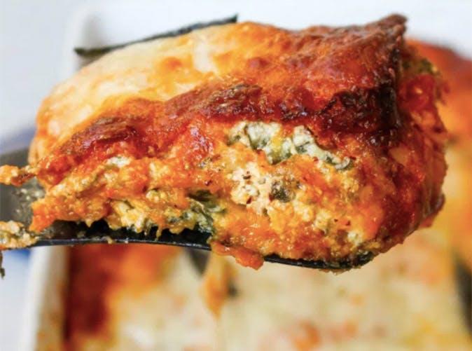butternut squash goat cheese lasagna 501
