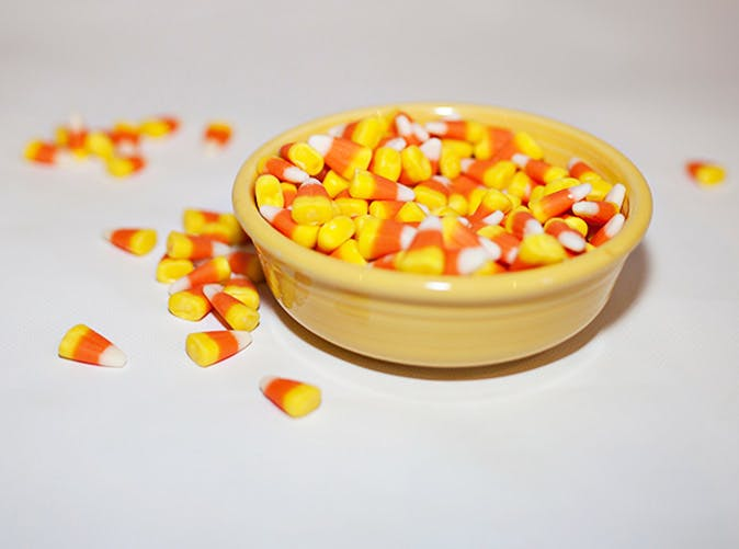 candy corn bowl 501