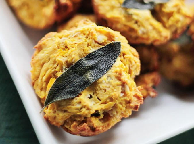 canned pumpkin sage muffin recipe