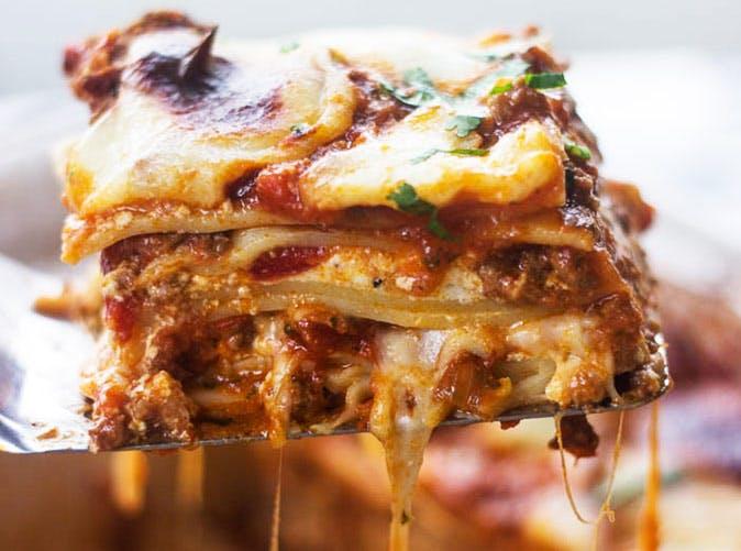 cheese pull lasagna 501