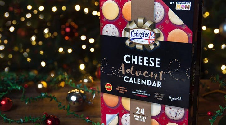 All We Want for Christmas Is This Cheese Advent Calendar