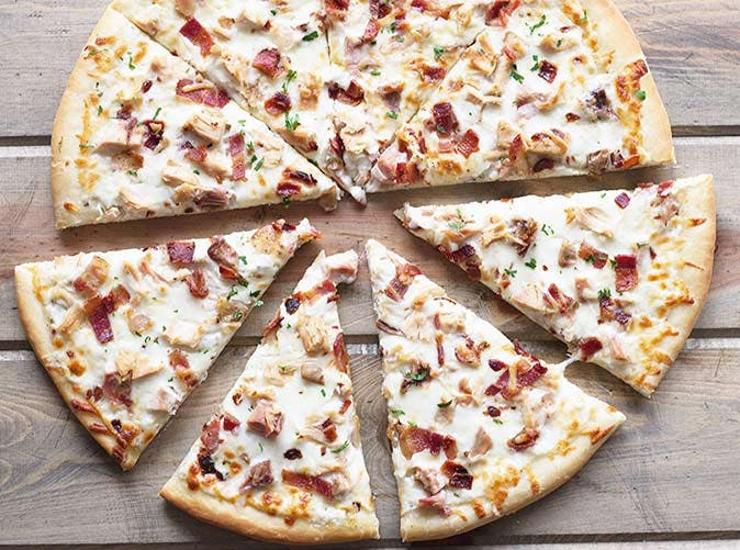 chicken bacon ranch pizza 501