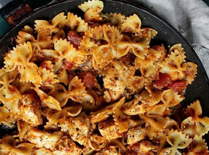 chicken bruschetta pasta 501