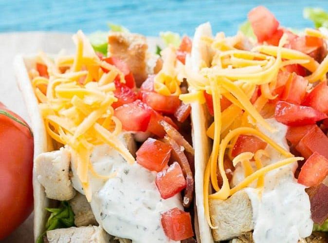 chicken ranch tacos 501