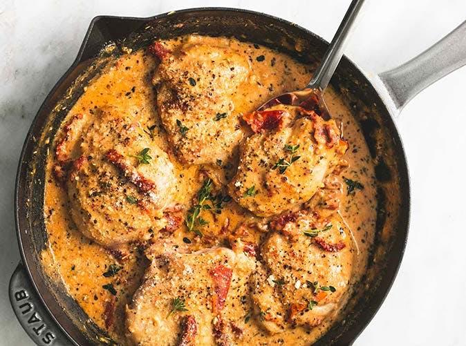 chicken sundried tomato sauce 5011