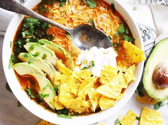 chicken tortilla soup 501