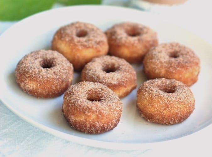 cinnamon sugar mini doughnuts 501