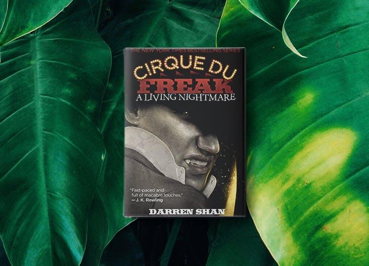 cirque du freak preteen boy books LIST