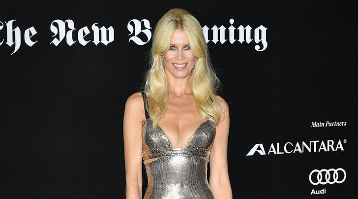 Claudia Schiffer Just Gave Us Permission to Sleep in Our Makeup (Thanks, Queen)