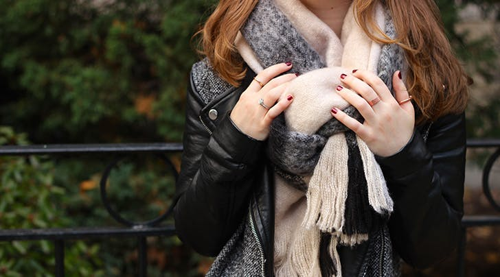 How to Wash All Your (Secretly Disgusting) Scarves