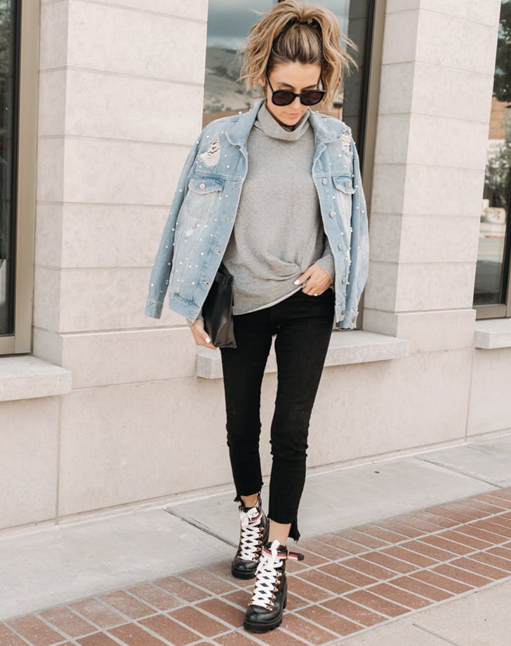 7 Combat Boots Outfit Ideas That Look Amazing - PureWow
