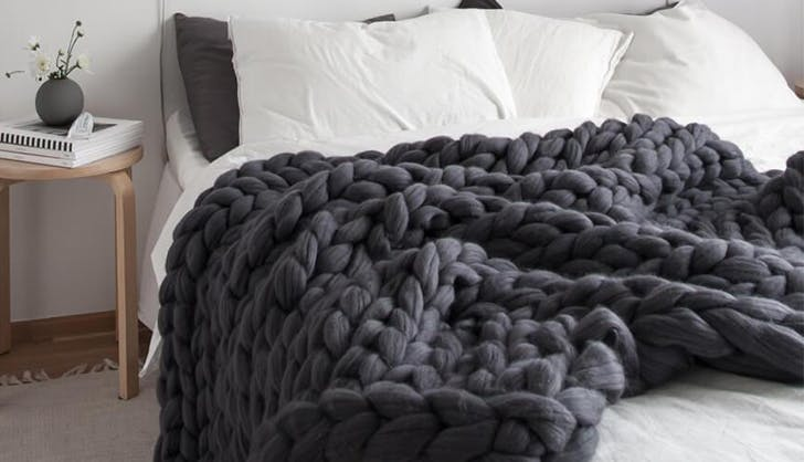 cozy knit blanket amazon homemade shop