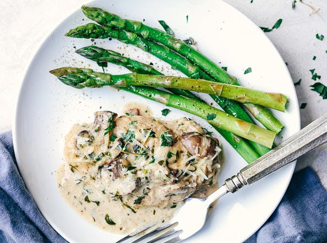 creamy chicken and asparagus 5011