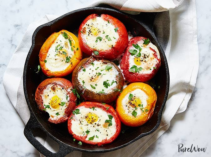 eggs baked in tomatoes 501