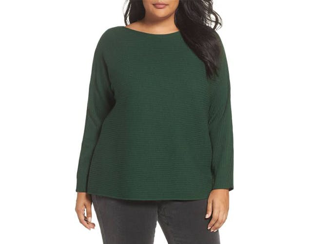 eileen fisher ribbed sweater  40