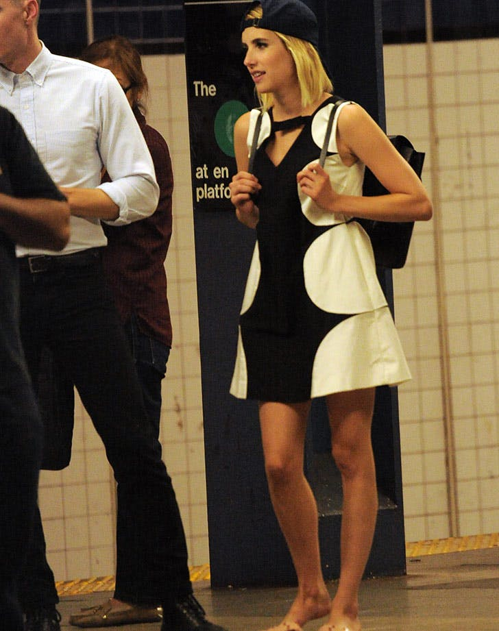 emma roberts subway LIST