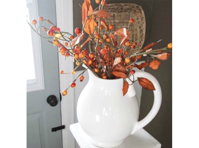 falldecor berrypitcher