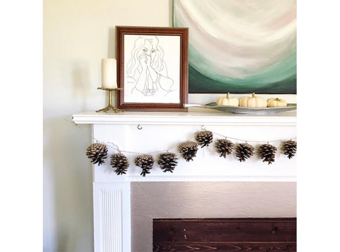 falldecor garland pine
