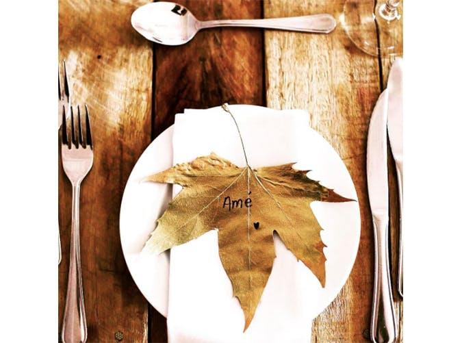 falldecor leafplacecard