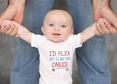 family shoppable baby onesies category
