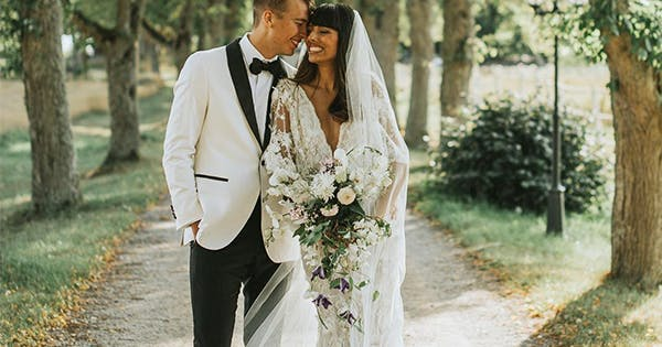 11 Fashion Blogger Wedding Dresses We Want To Steal Purewow
