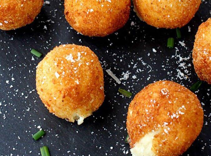 fried mashed potatoes recipe
