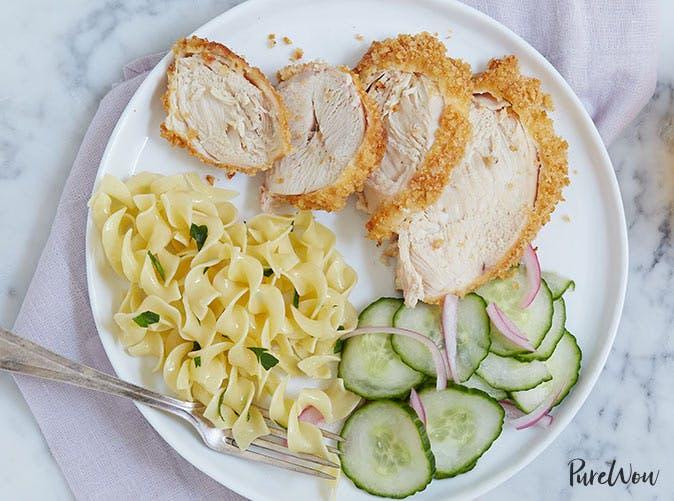 garlic breaded chicken breasts 501