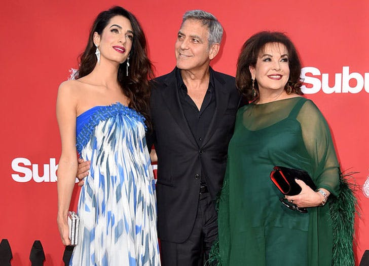 Move Over, George: Amal Clooney Just Walked the Red Carpet with a New Date