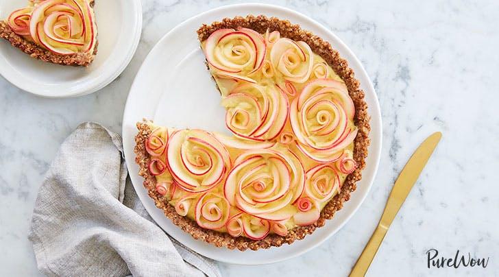 Gluten-Free Apple Rose Tart