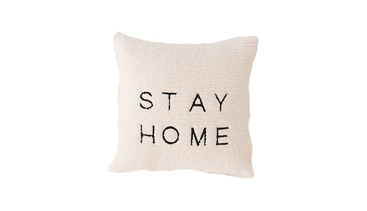 gifts for book lovers 8   stay home pillow
