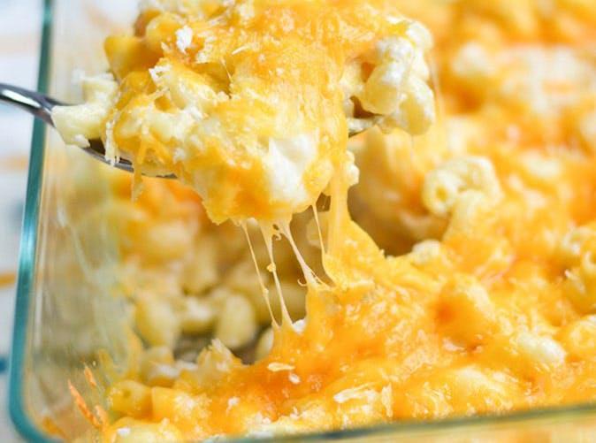 greek yogurt macaroni and cheese 501