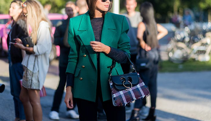 green military jacket street style