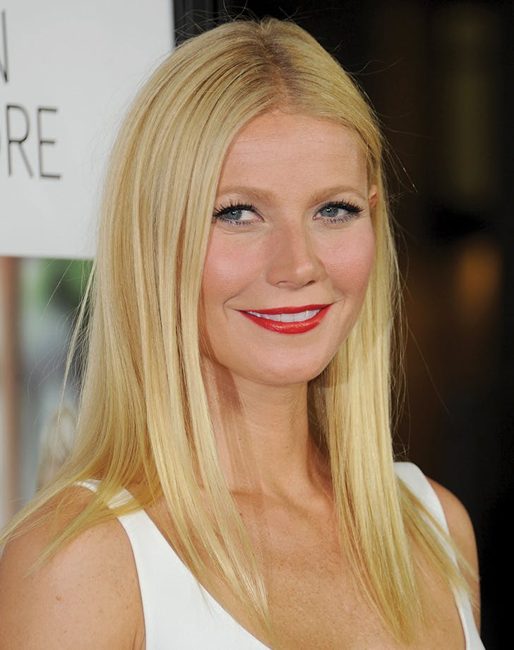 gwyneth straight hair