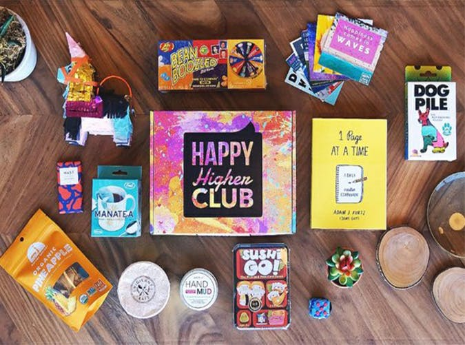 happy higher club subscription boxes for the holidays