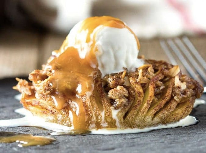 hasselback Apples SLIDE
