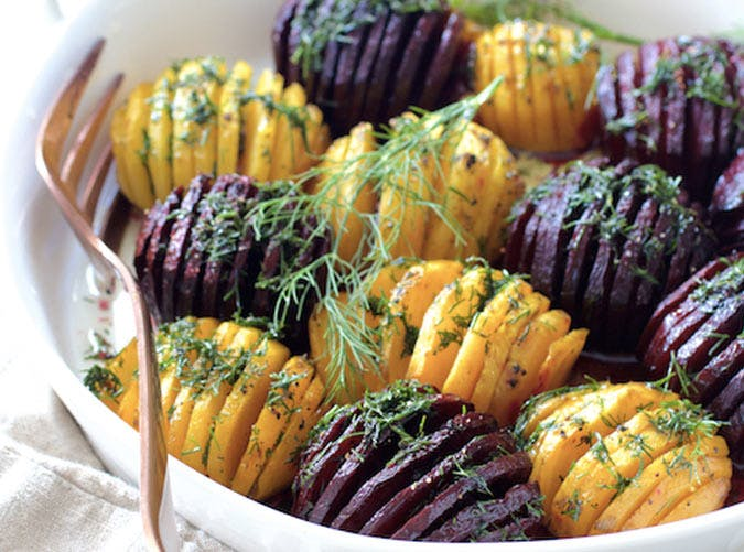 hasselback beets SLIDE