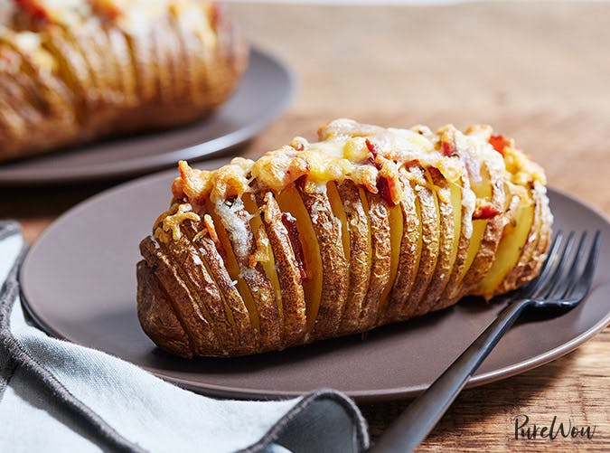 hasselback cheese potato recipe SLIDE