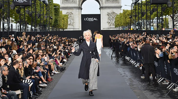 Runway Queens Jane Fonda and Helen Mirren Just Shut Down Paris Fashion Week