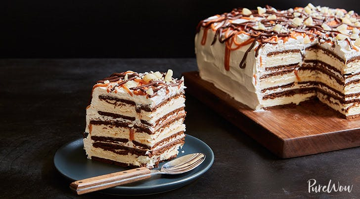 Ice Cream Sandwich Cake Upgrade Your Dessert PureWow