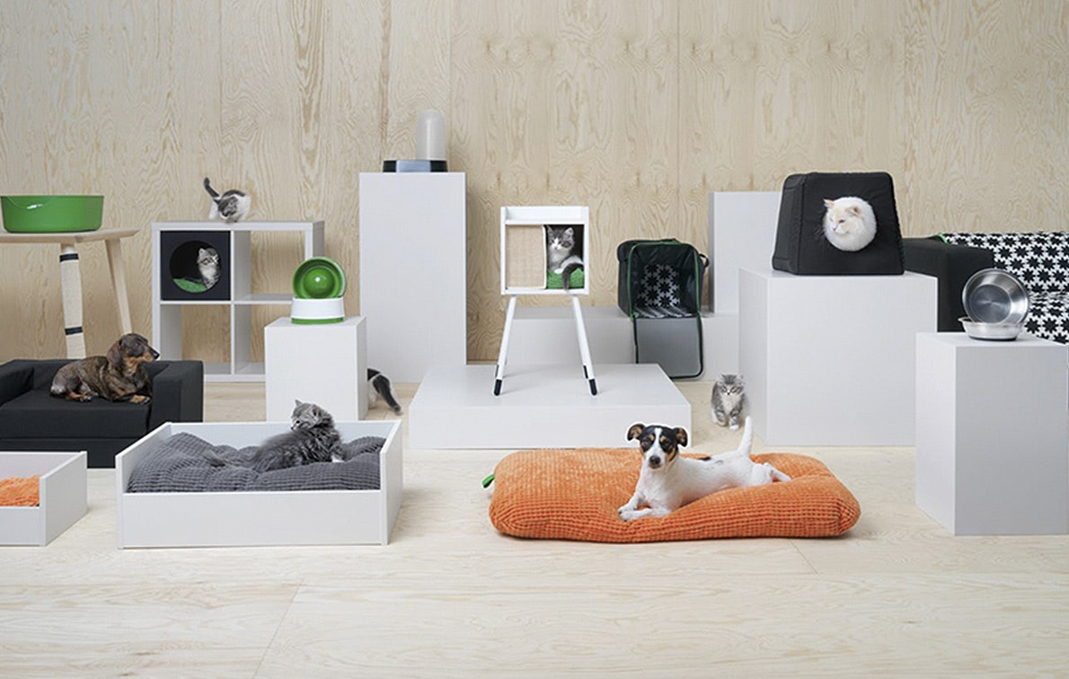 IKEAs New Pet Furniture Line Means Fido Can Enjoy All The Hygge, Too
