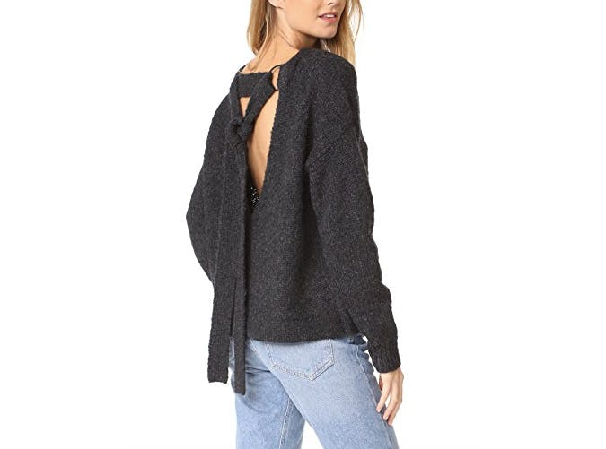kendall and kylie tie sweater  38