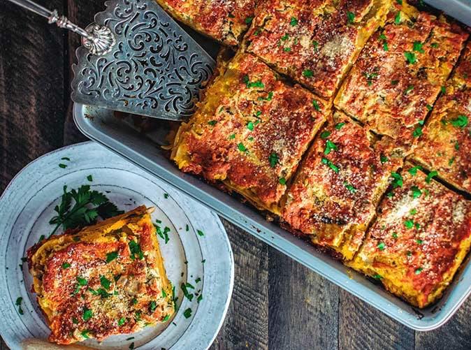 lasagna served 501