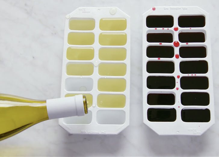 leftover wine ice cubes LIST2