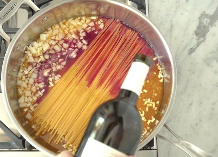 leftover wine pasta LIST