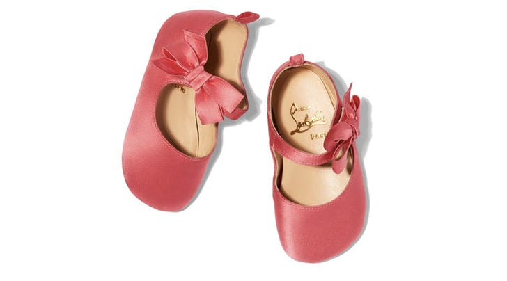 Louboutin Is Now Making Shoes for Babies and, You Guessed It, They're Not Cheap