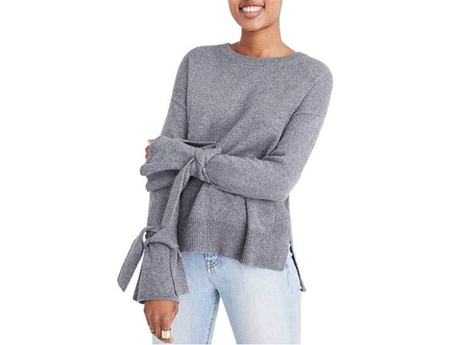 madewell bell sleeve sweater  12