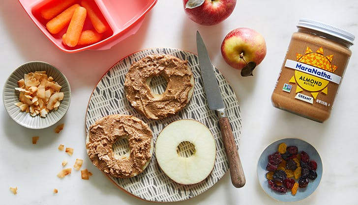 maranatha almond butter with apples
